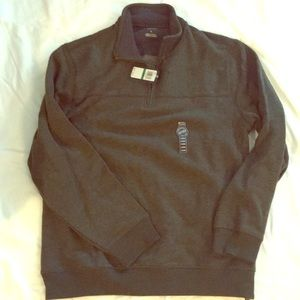 NWT Arrow Half Zip Sweater Moss Green Large